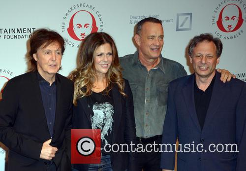 Sir Paul Mccartney, Rita Wilson, Tom Hanks and Ben Donenberg 3