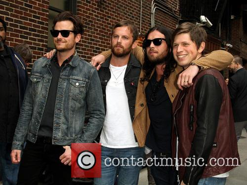 Jared Followill, Caleb Followill, Nathan Followill and Matthew Followill Of The Kings Of Leon 2