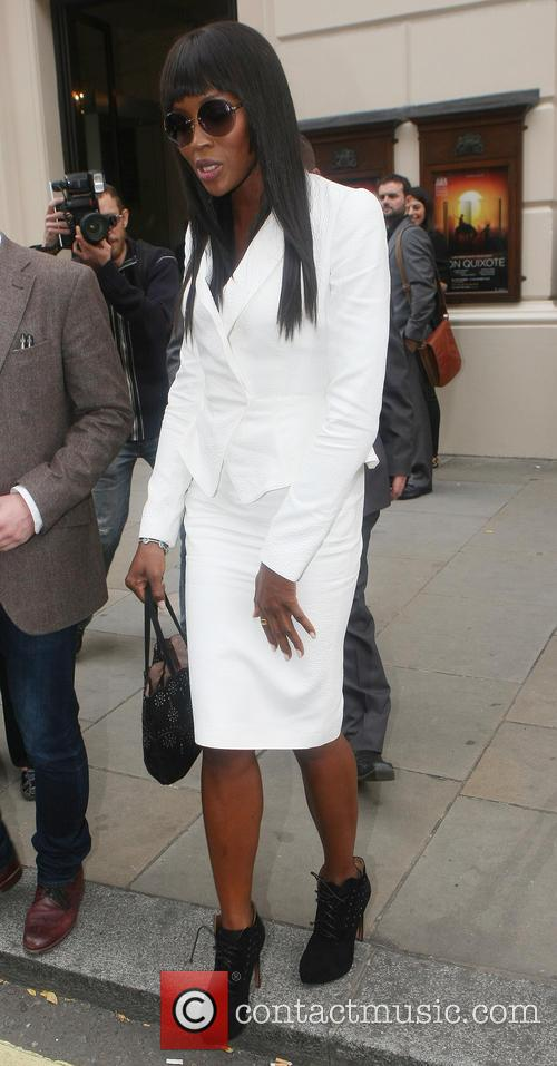Naomi Campbell, Royal Opera House