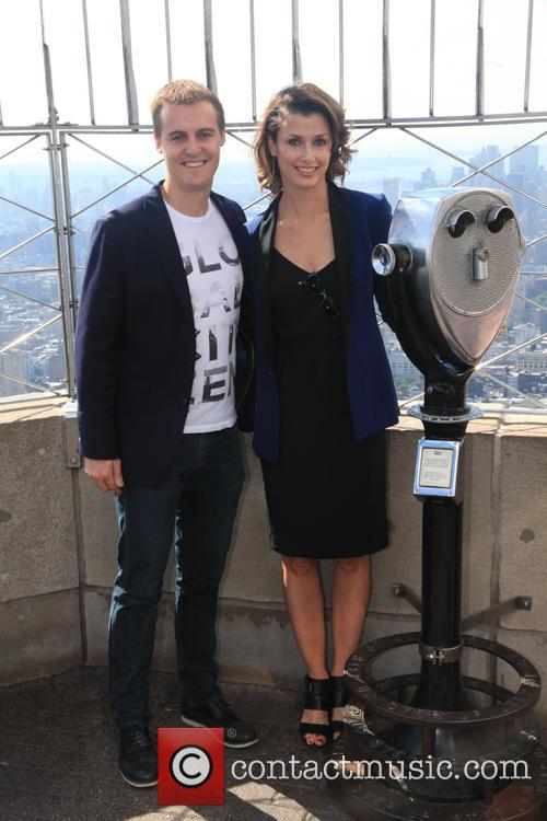 Bridget Moynahan lights up the Empire State Building