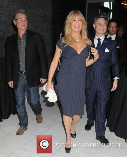 Kurt Russell, Goldie Hawn and And Jason Binn 2