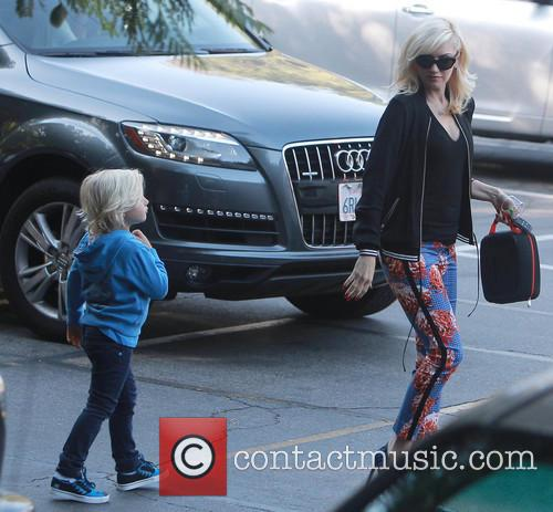 Gwen Stefani and Zuma Rossdale 5
