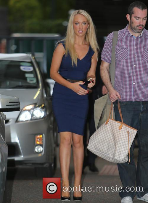 leah totton celebrities at the itv studios 3882062