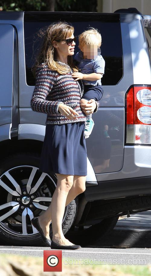 Jennifer Garner and Samuel Affleck 3
