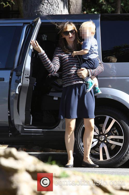 Jennifer Garner and Samuel Affleck 5
