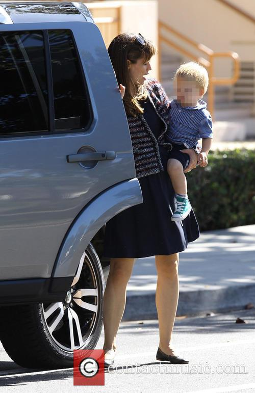 Jennifer Garner, Samuel Affleck and Violet Affleck 7