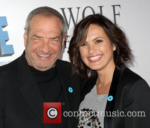 Dick Wolf and Mariska Hargitay 2