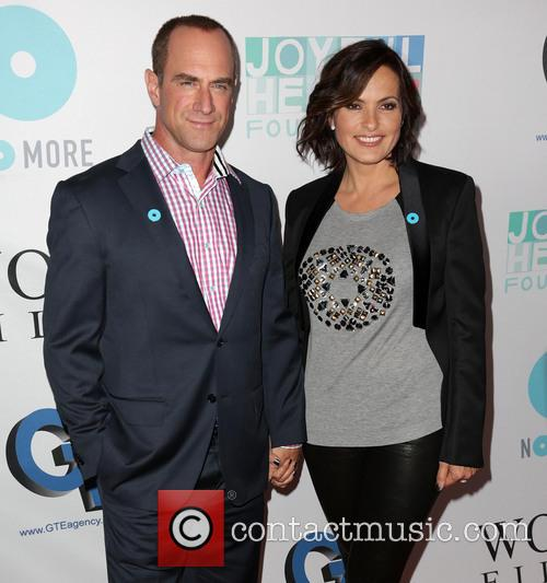 Chris Meloni and Mariska Hargitay 2