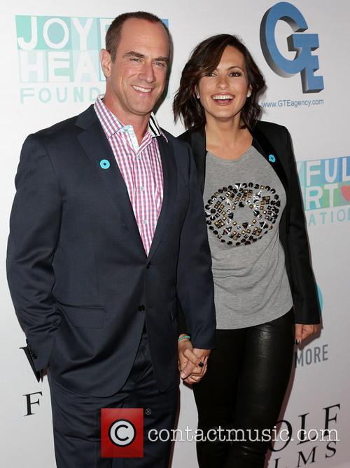 Chris Meloni and Mariska Hargitay 1