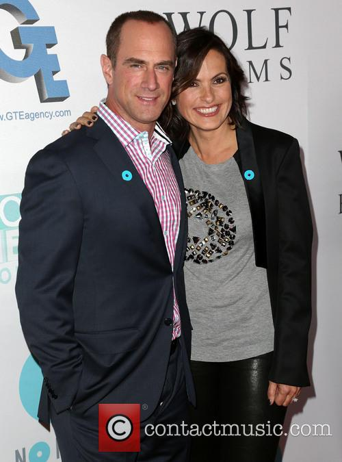 Chris Meloni and Mariska Hargitay 7