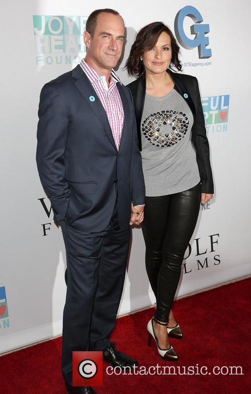 Chris Meloni and Mariska Hargitay 8