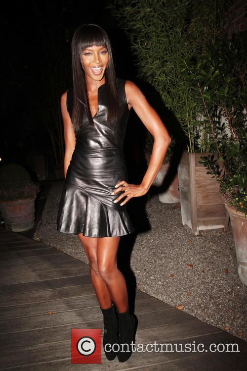 naomi campbell celebrities at greenhouse restaurant 3882600