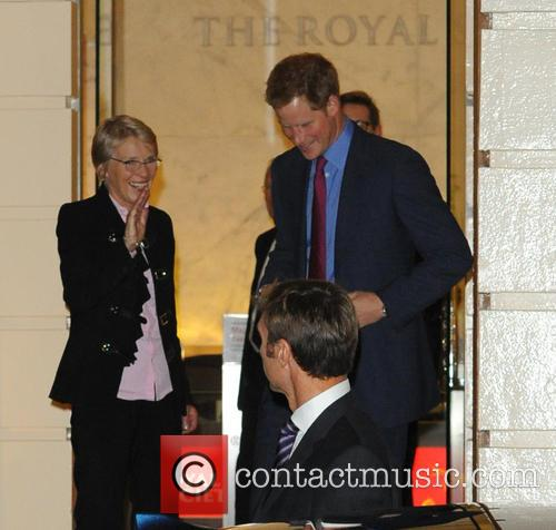 Julie Maxton and Prince Harry 5