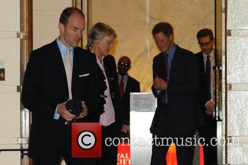 Prince Harry and Julie Maxton 9