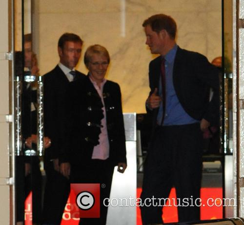 Prince Harry At MapAction Reception