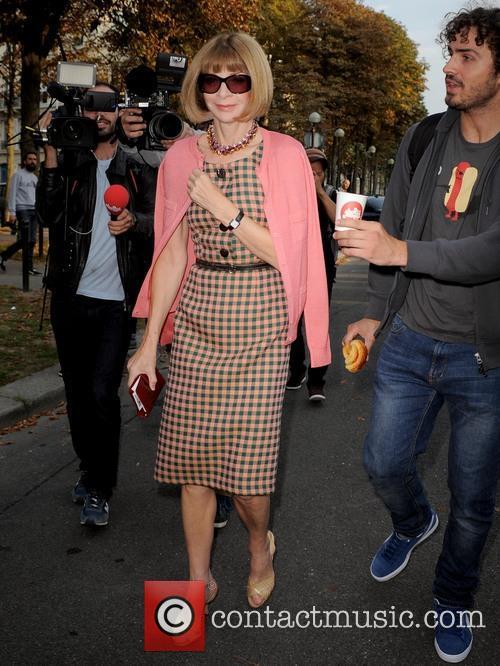 Anna Wintour, Paris Fashion Week