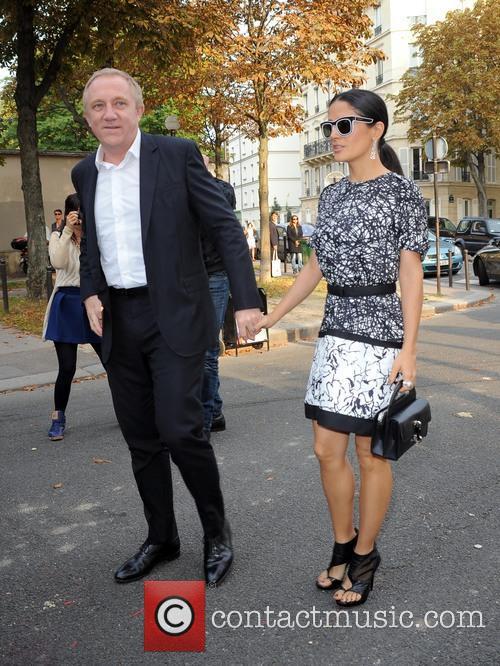 Salma Hayek and François Henri Pinault 2