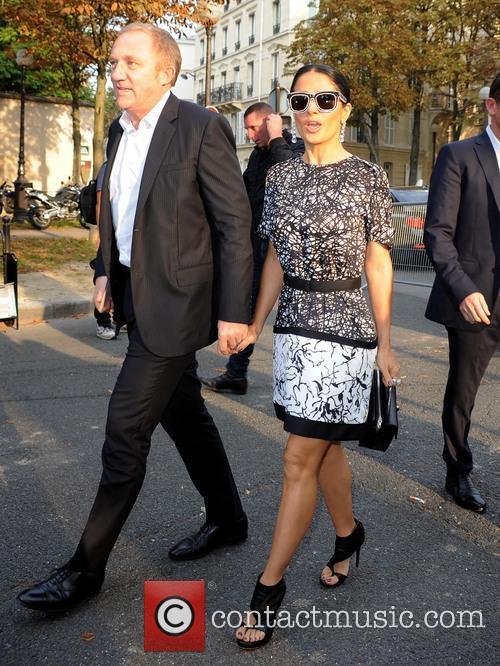 Salma Hayek and François Henri Pinault 3