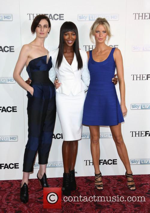 Naomi Campbell, Erin O'connor and Caroline Winberg 5