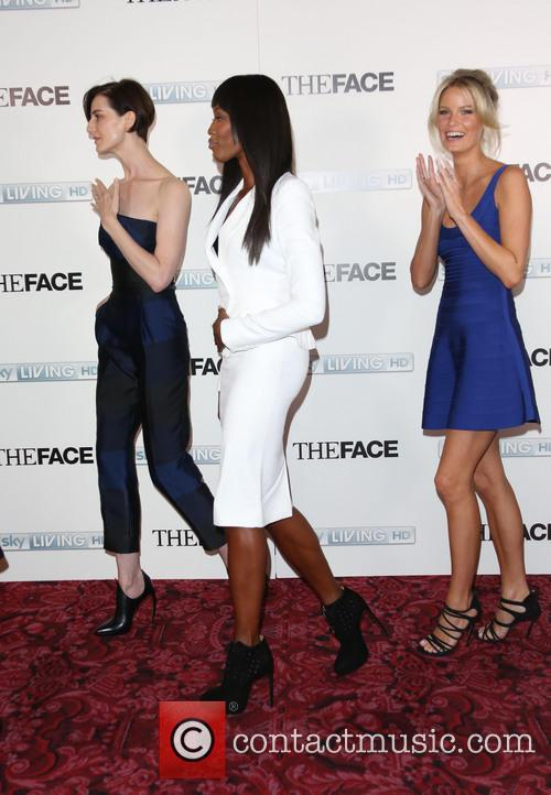 Naomi Campbell, Erin O'connor and Caroline Winberg 6