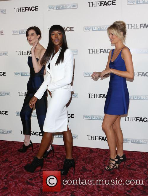 Naomi Campbell, Erin O'connor and Caroline Winberg 8
