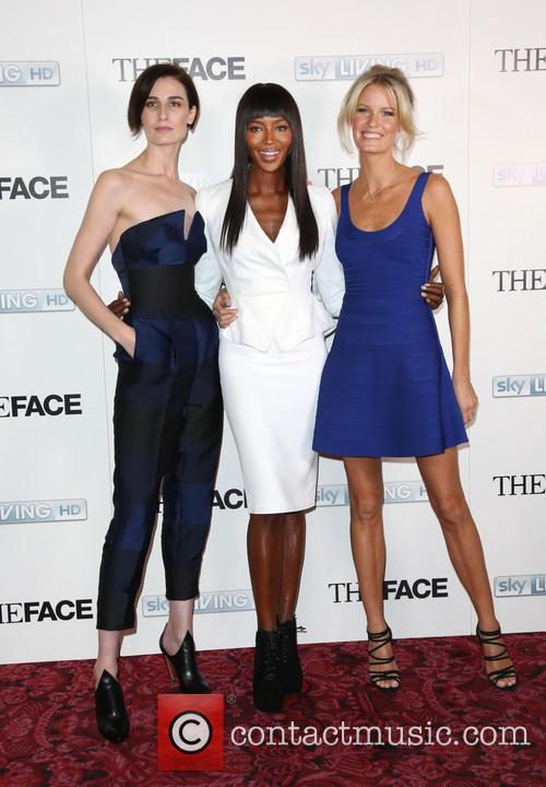 Naomi Campbell, Erin O'connor and Caroline Winberg 9