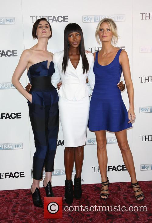 Naomi Campbell, Erin O'connor and Caroline Winberg 10