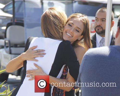 Jessica Alba and Maria Menounos 9