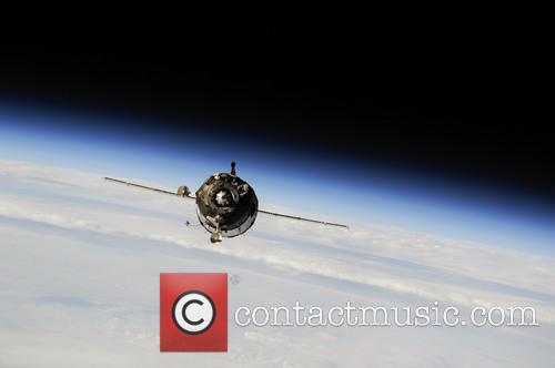 The Soyuz TMA-10M spacecraft approaches the International Space...