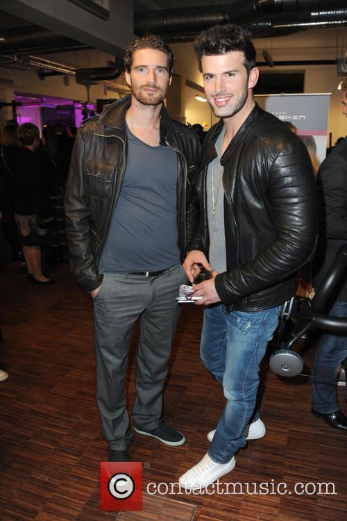Arne Friedrich and Jay Khan 2