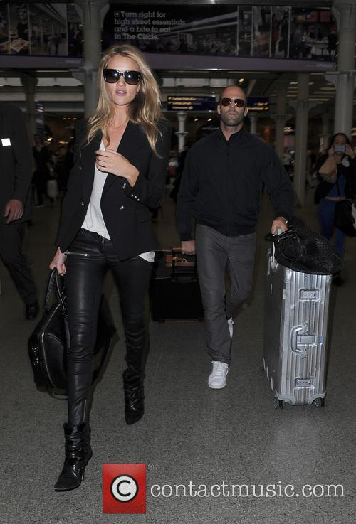 Rosie Huntington-whiteley and Jason Statham 6