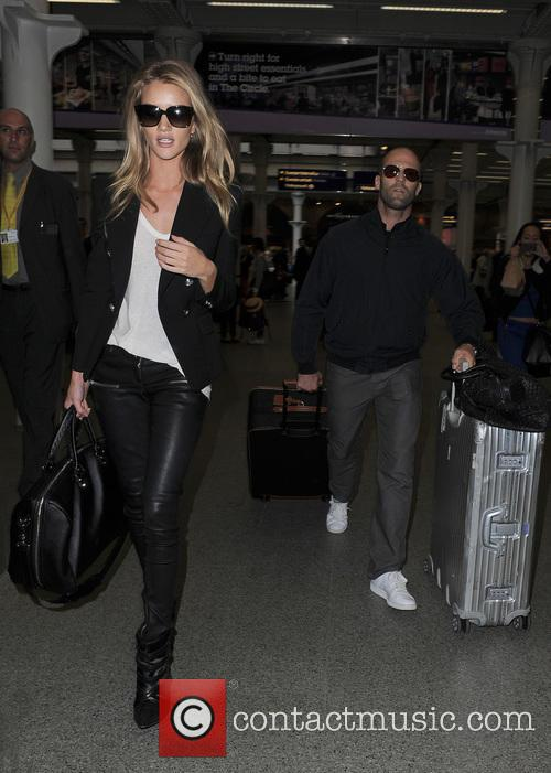 Rosie Huntington-Whiteley and Jason Statham 7
