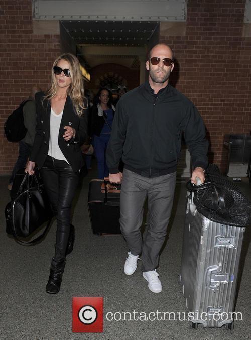 Rosie Huntington-Whiteley and Jason Statham 8