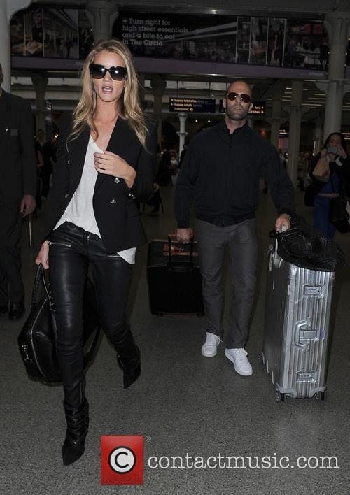 Rosie Huntington-Whiteley and Jason Statham 9