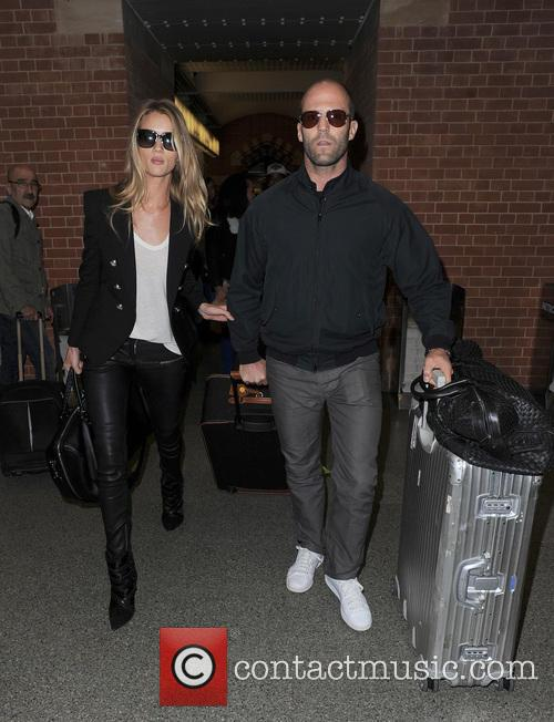 Rosie Huntington-Whiteley and Jason Statham 11