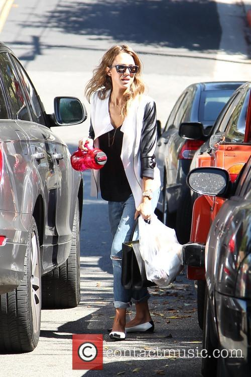 jessica alba jessica alba out and about 3883645