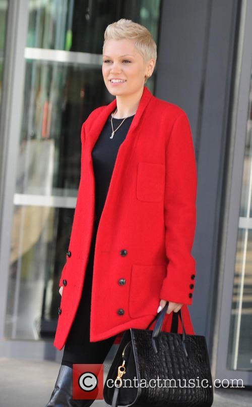 Jessie J at the BBC Media City