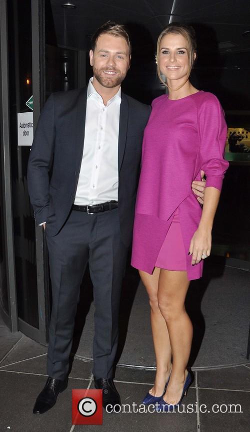 Brian Mcfadden and Vogue Williams Mcfadden 1