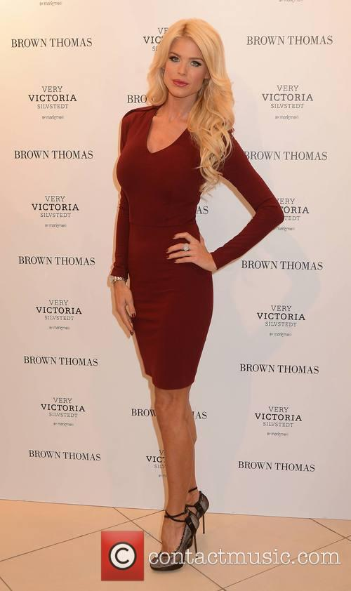 Victoria Silvstedt launches her new lingerie collection at BT