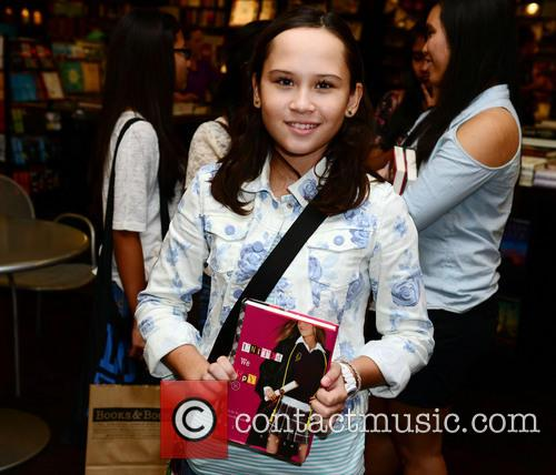 Ally Carter greets fans and signs copies of...