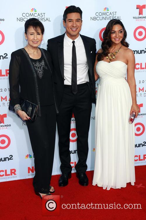 Elvia Lopez, Mario Lopez and Courtney Lopez 2