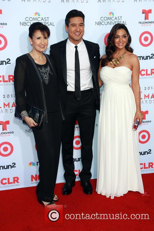 Elvia Lopez, Mario Lopez and Courtney Lopez 1