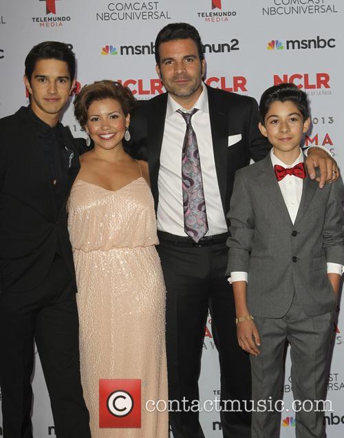 Joseph Haro, Justina Machado, Ricardo A. Chavira and Fabrizio Guido 2