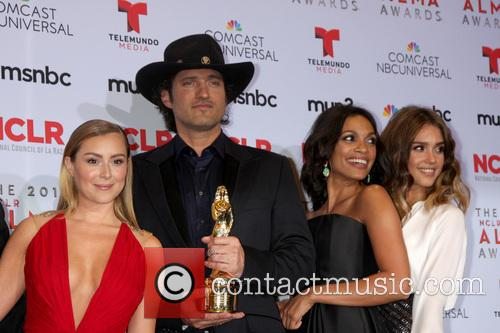 Alexa Vega, Robert Rodriguez, Rosario Dawson and Jessica Alba 1
