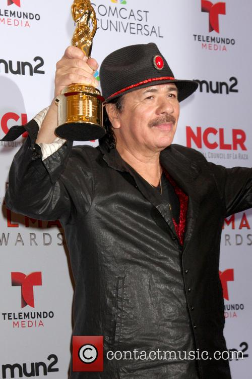 carlos santana 2013 alma awards press room 3884454