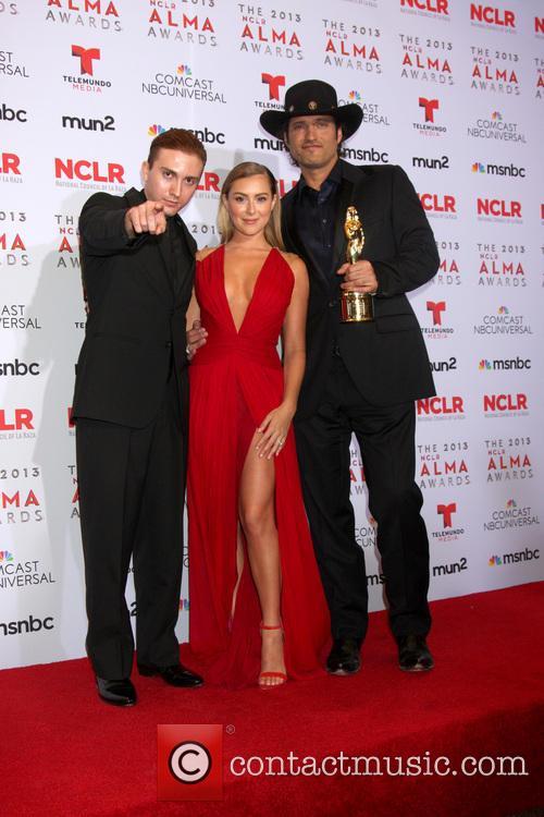 Daryl Sabara, Alexa Vega and Robert Rodriguez 1