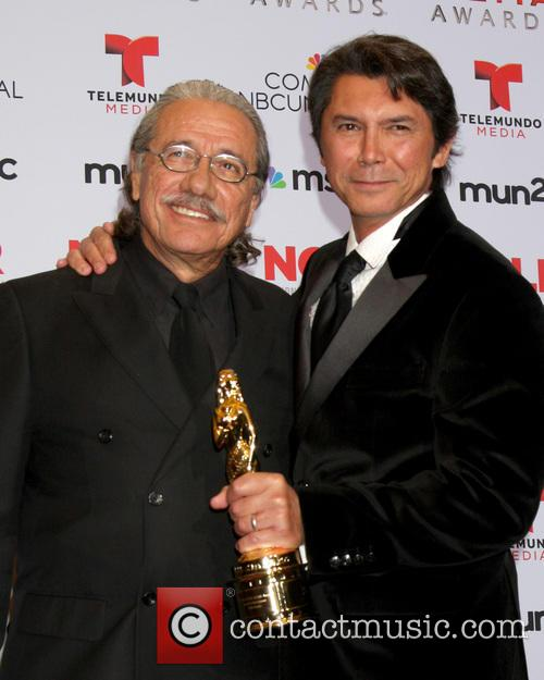 Edward James Olmos and Lou Diamond Phillips 1