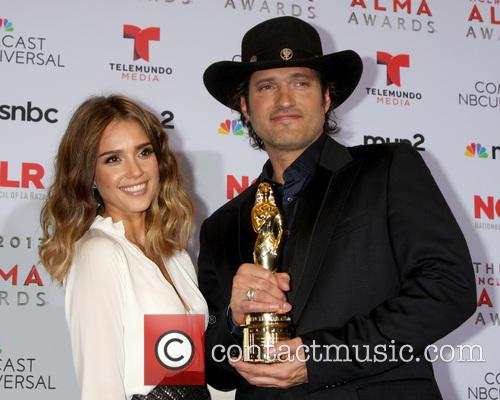 Jessica Alba and Robert Rodriguez 1