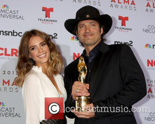 Jessica Alba and Robert Rodriguez 2