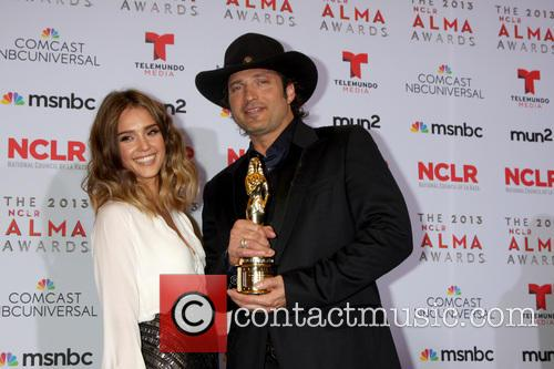 Jessica Alba and Robert Rodriguez 3